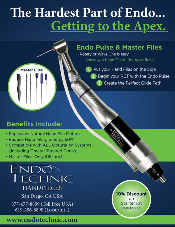 EndoPulse™ Handpiece (With Motor)