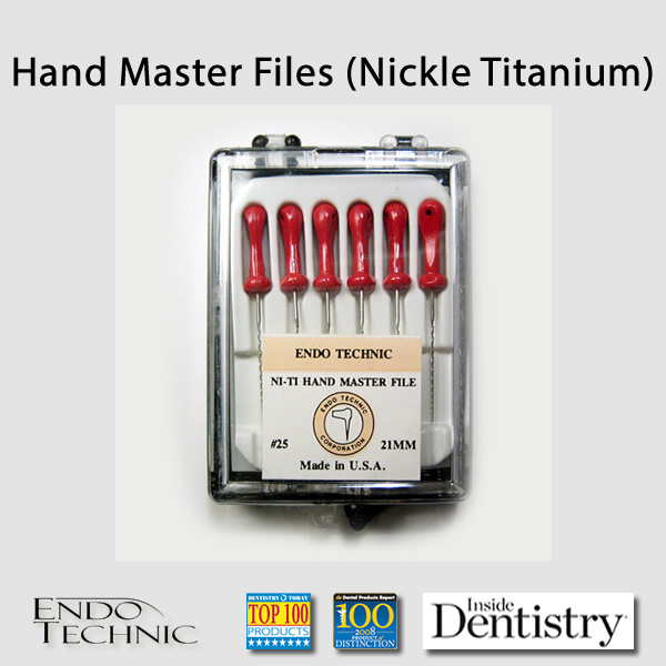 Hand Master File (Nickle Titanium)